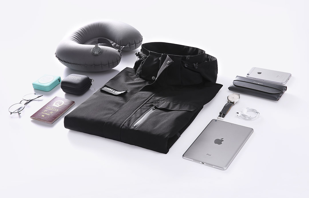 Xiaomi launches a new travel jacket in which you can safely store all your gadgets