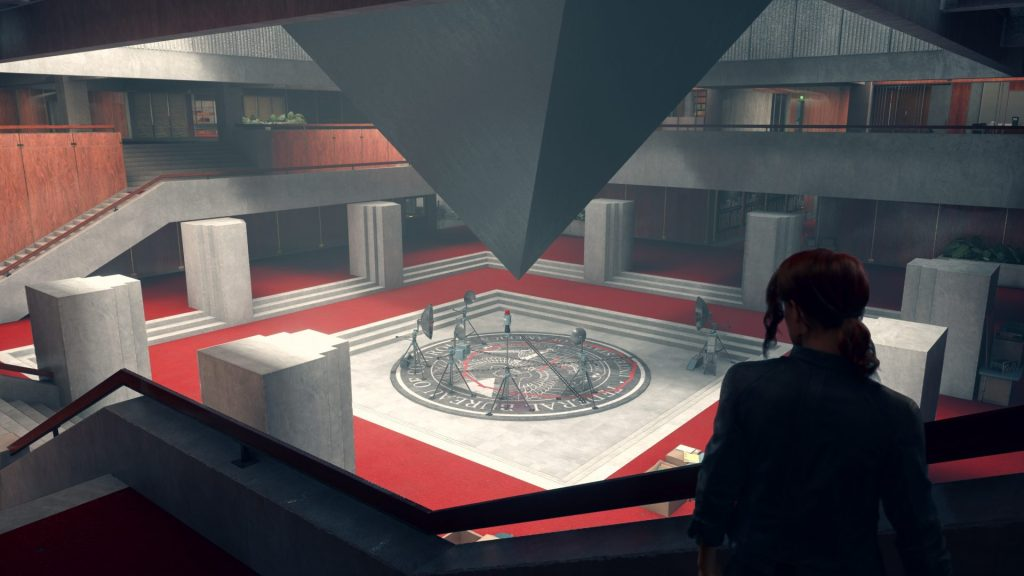 Photo shows the game's main QH, where Jesse, the protagonist, makes her plans of where to explore shortly thereafter.