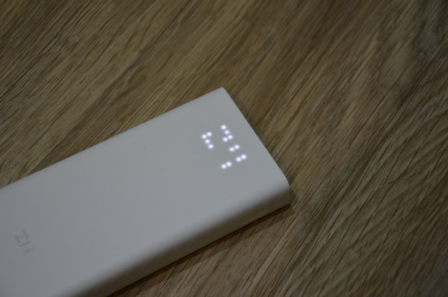 Xiaomi ZMI power bank QB821: one of the best power banks with fast charging QC 3.0 44