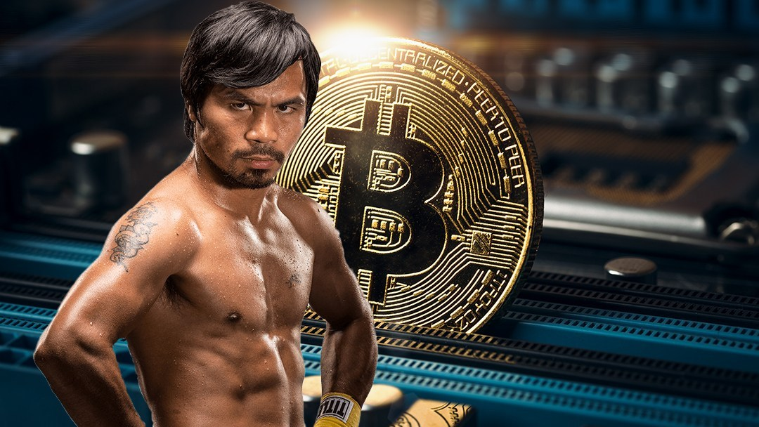 Manny Pacquiao, boxing champion, launches his own cryptocurrency