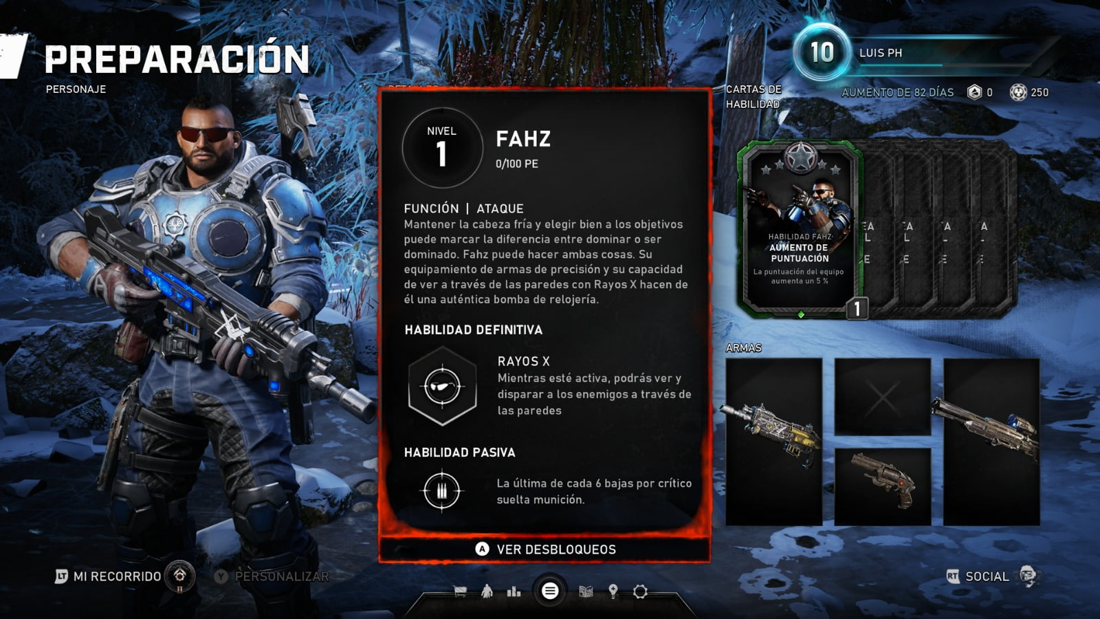 Know all the skill cards of the Horde mode of Gears 5 2