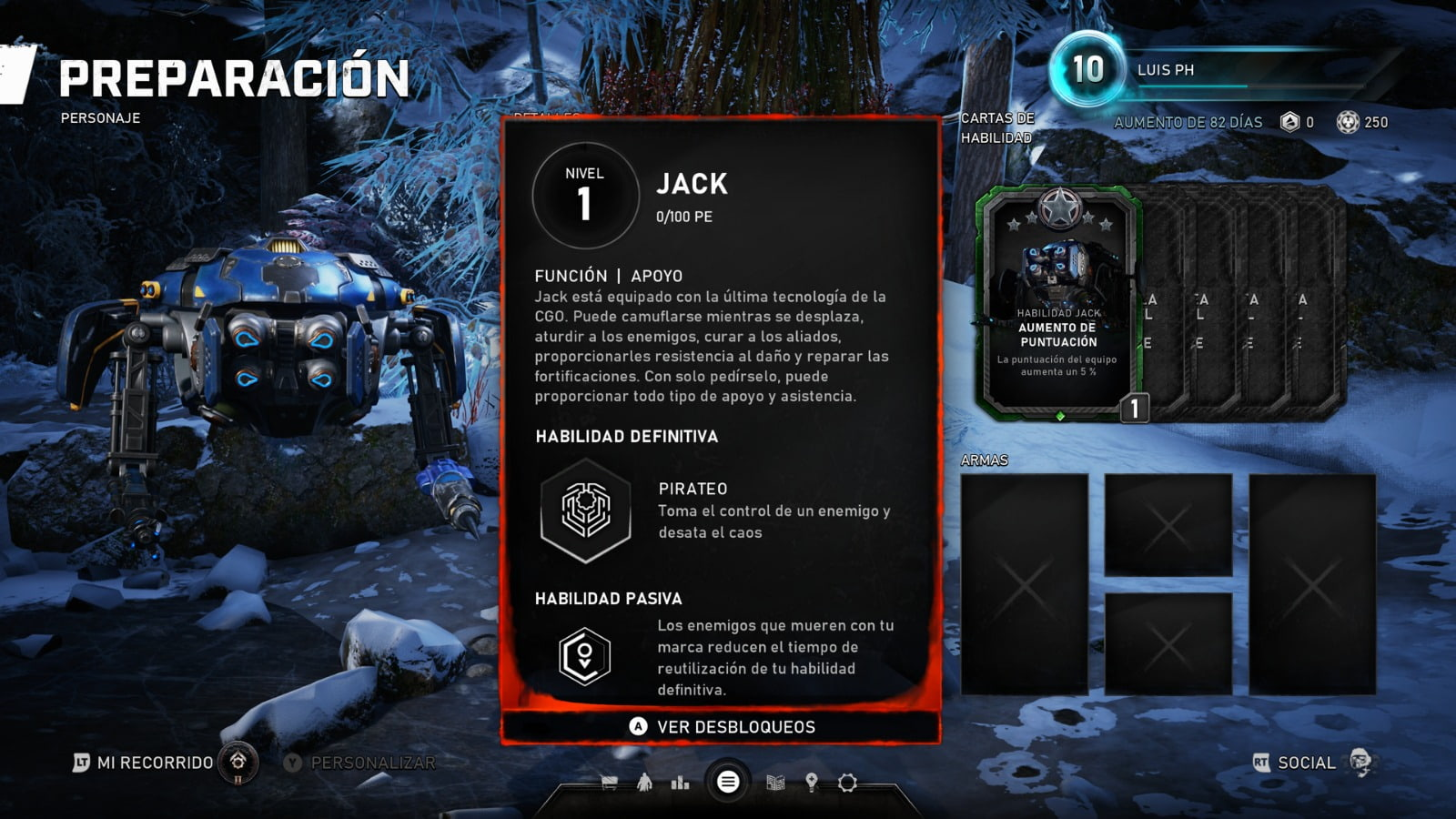 Know all the skill cards of the Horde mode of Gears 5 3