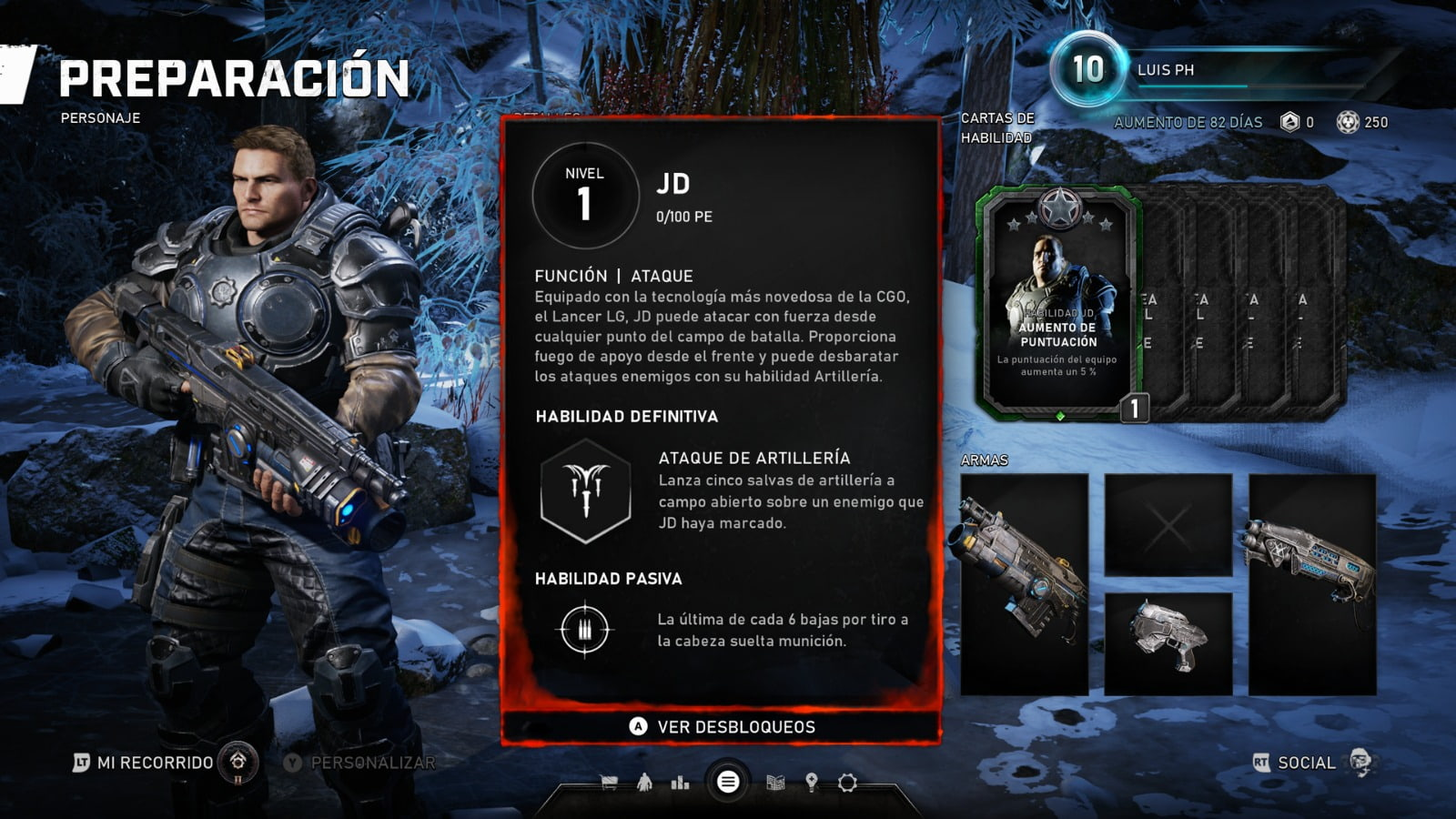 Know all the skill cards of the Horde mode of Gears 5 4