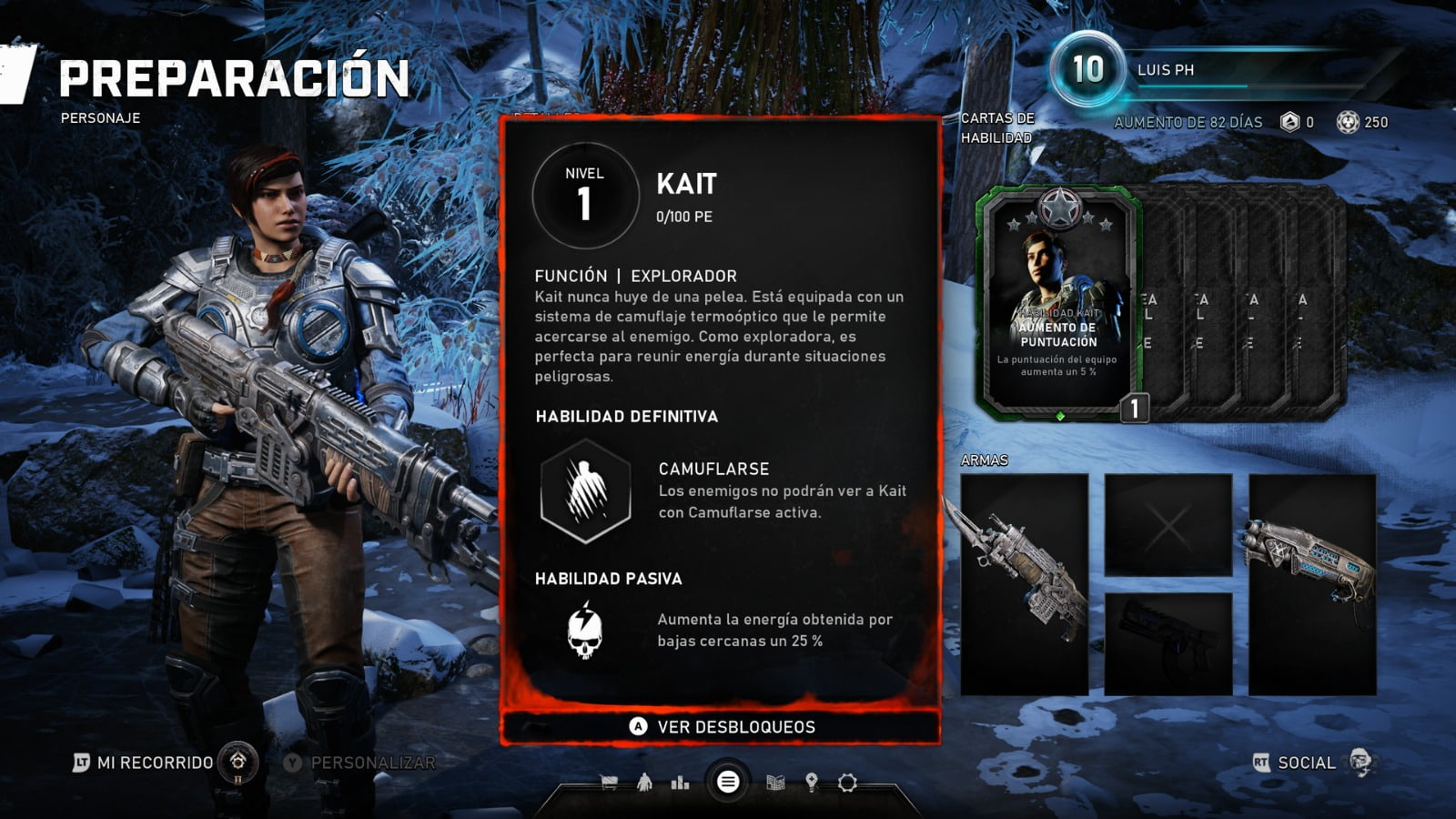 Know all the skill cards of the Horde mode of Gears 5 5