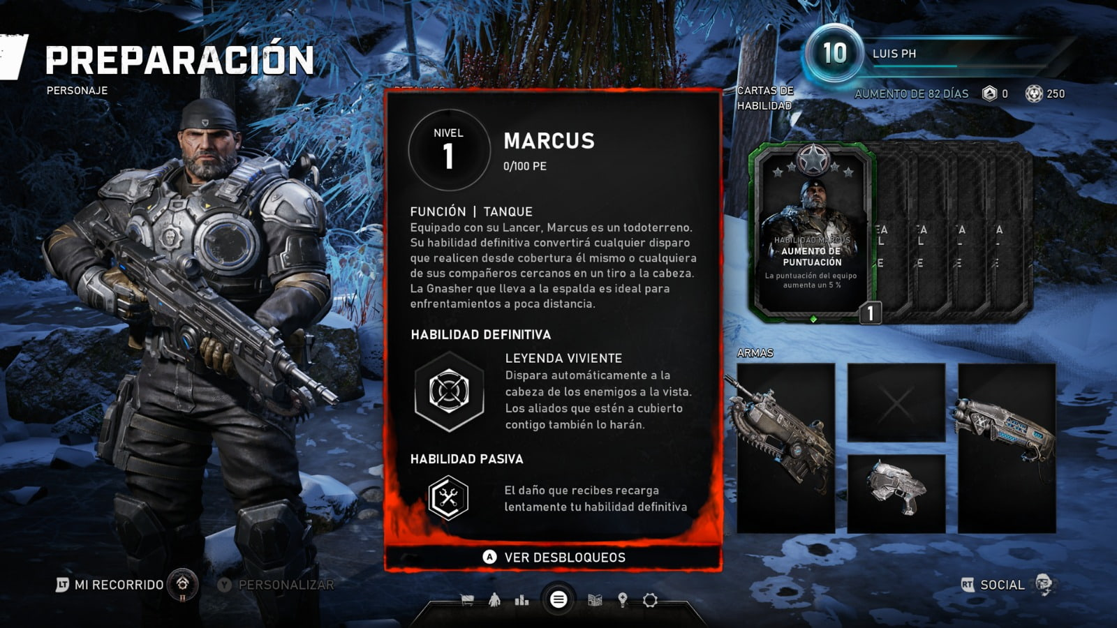 Know all the skill cards of the Horde mode of Gears 5 6