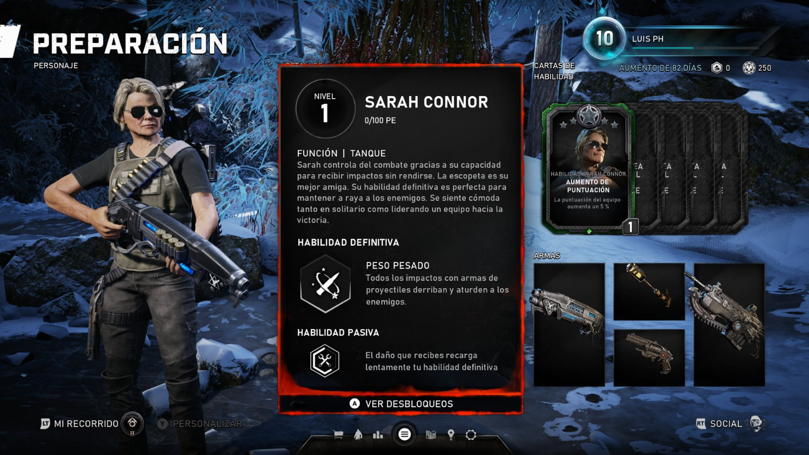 Know all the skill cards of the Horde mode of Gears 5 7