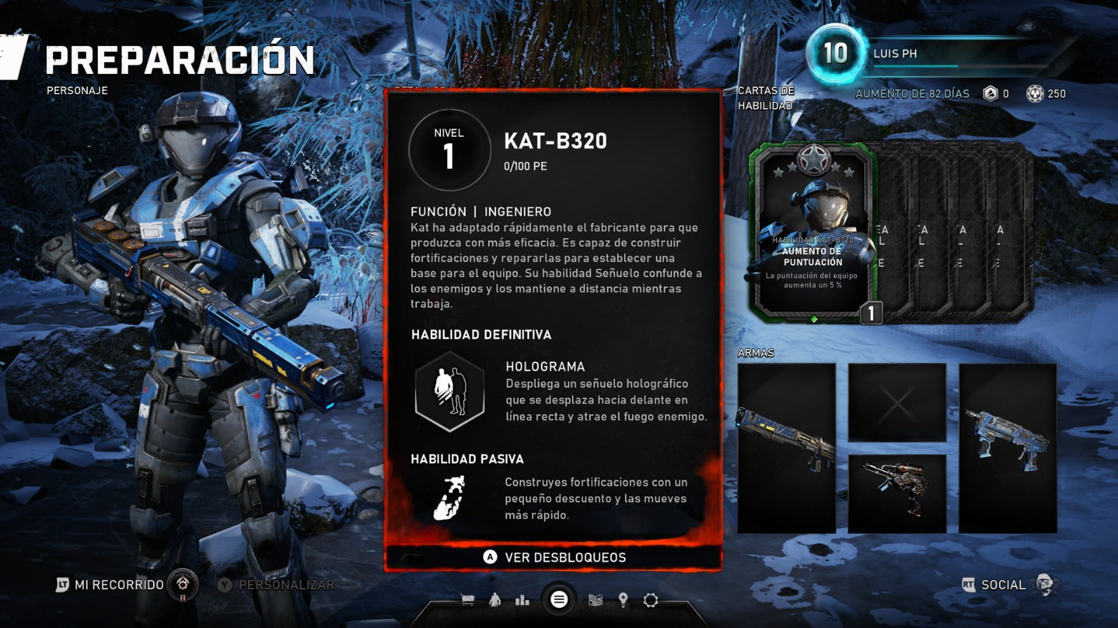 Know all the skill cards of the Horde mode of Gears 5 9