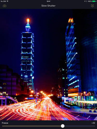Get Slow Shutter! for iPhone and iPad for FREE with the app Apple Store 6