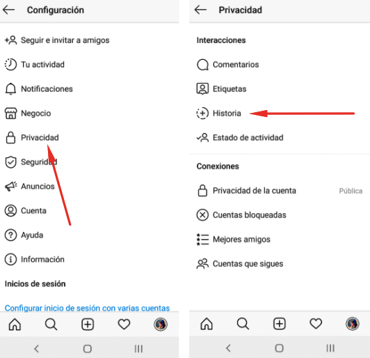 How to hide your story from Instagram to certain people? 2
