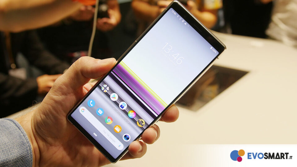 Here is the new Sony Xperia 5 | Evosmart.it
