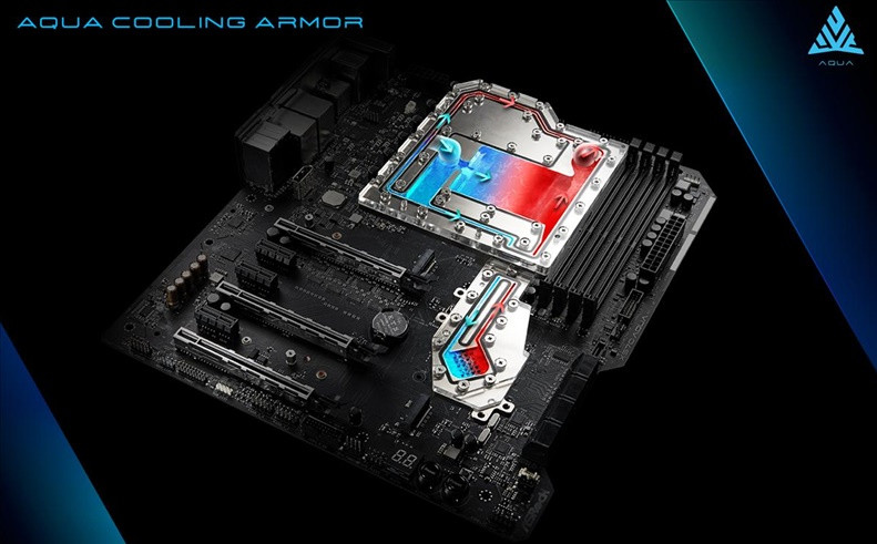 AsRock presents the X570 Aqua motherboard, with only 999 units manufactured 2