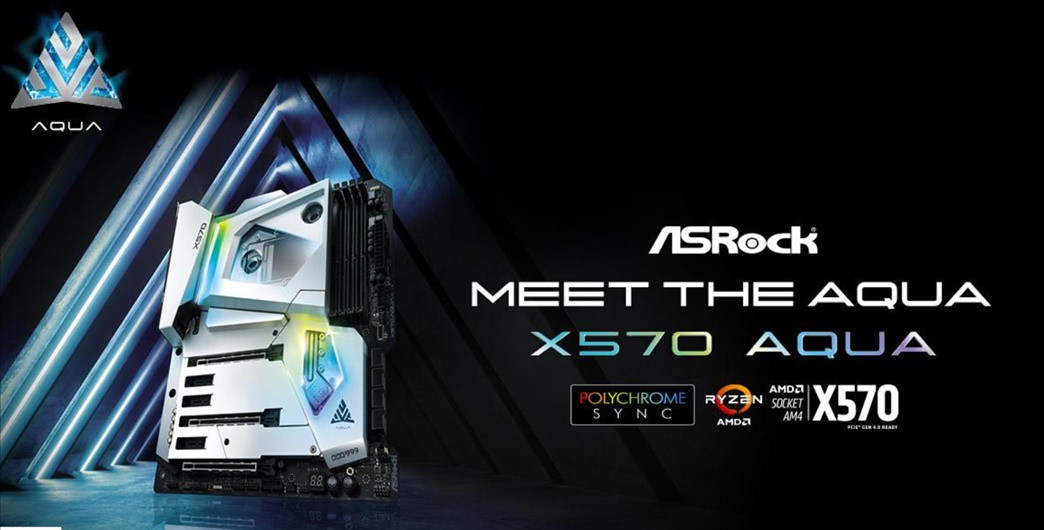 AsRock presents the X570 Aqua motherboard, with only 999 units manufactured 1