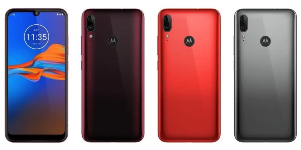 Moto E6 Plus available in Metallic Red, Metallic Gray and Ruby