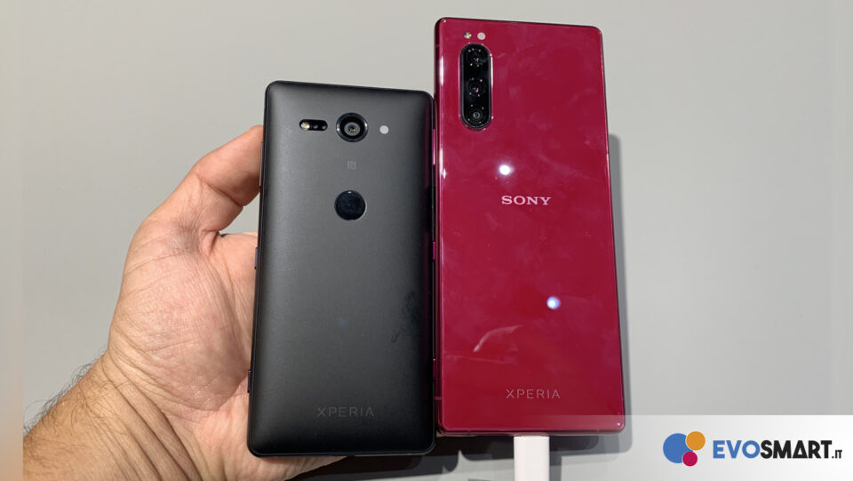 Xperia 5 vs Xperia XZ2 Compact | Evosmart.it