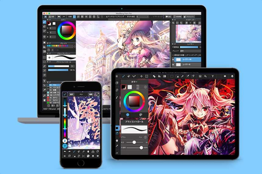 An all-in-one app to draw comic and manga 4