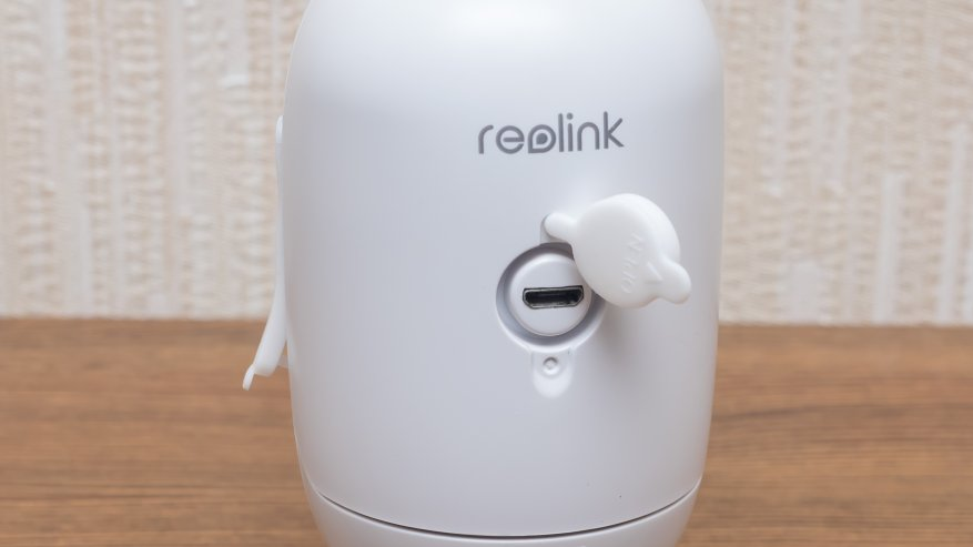 Reolink Argus 2: a standalone IP camera with a battery and the ability to charge from the solar panel 69