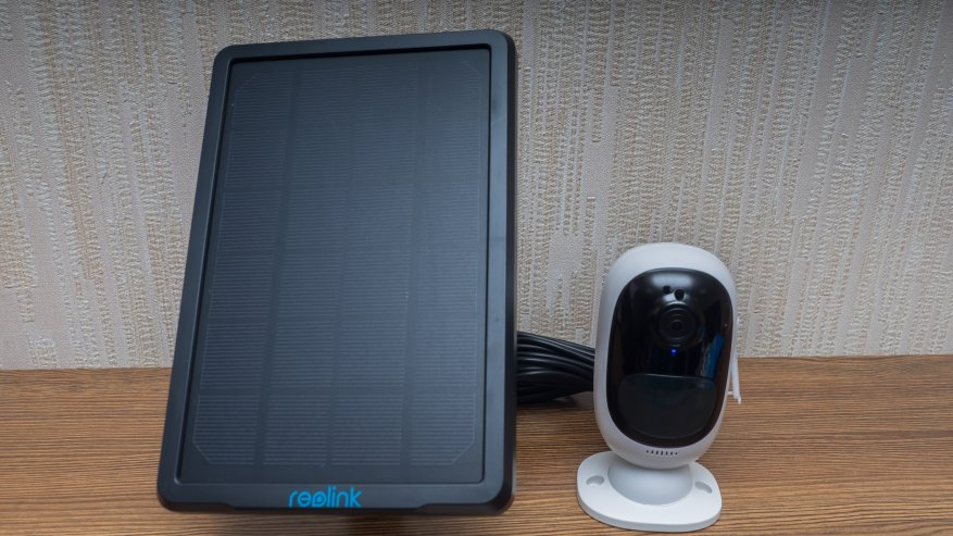 Reolink Argus 2: a standalone IP camera with a battery and the ability to charge from the solar panel 84