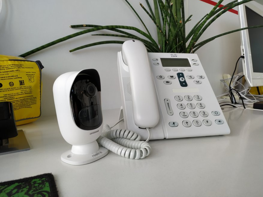 Reolink Argus 2: a standalone IP camera with a battery and the ability to charge from the solar panel 91