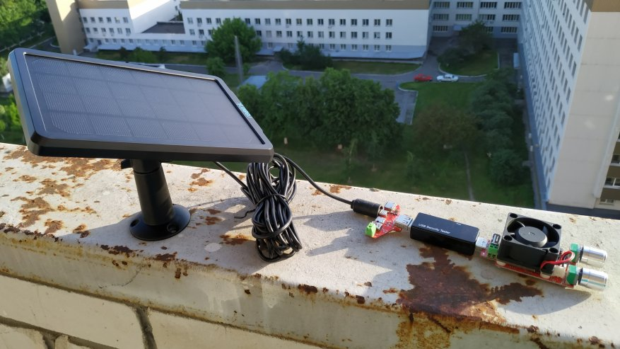 Reolink Argus 2: a standalone IP camera with a battery and the ability to charge from the solar panel 92
