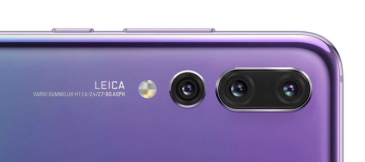 A new render of the Huawei P30 Pro reflects four sensors in its main camera 7