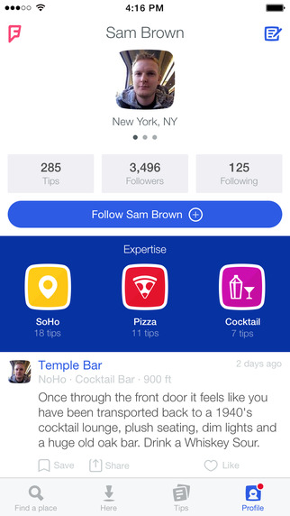 Foursquare is now also compatible with iPad Air, iPad and iPad mini 7