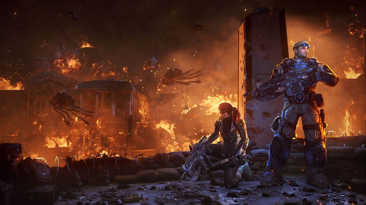 Where did the Locust come from? Gears 5 sheds new light on the history of Locusts and Swarm 1