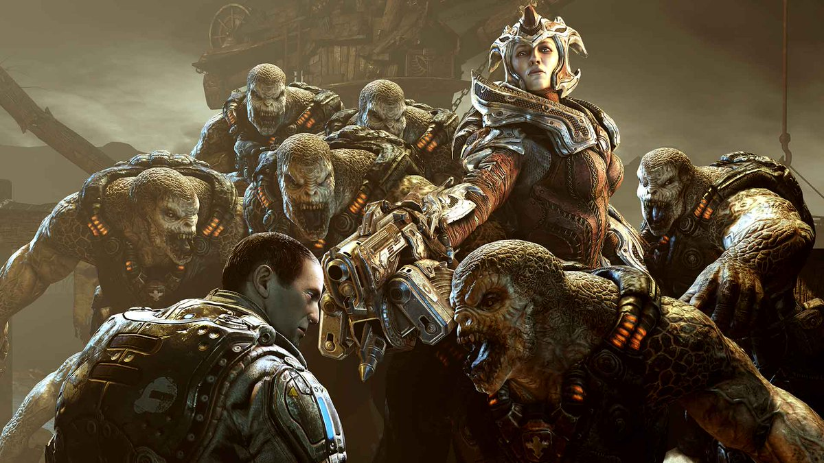 Where did the Locust come from? Gears 5 sheds new light on the history of Locusts and Swarm 6