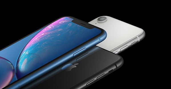 The best selling smartphone in the first half was the iPhone XR