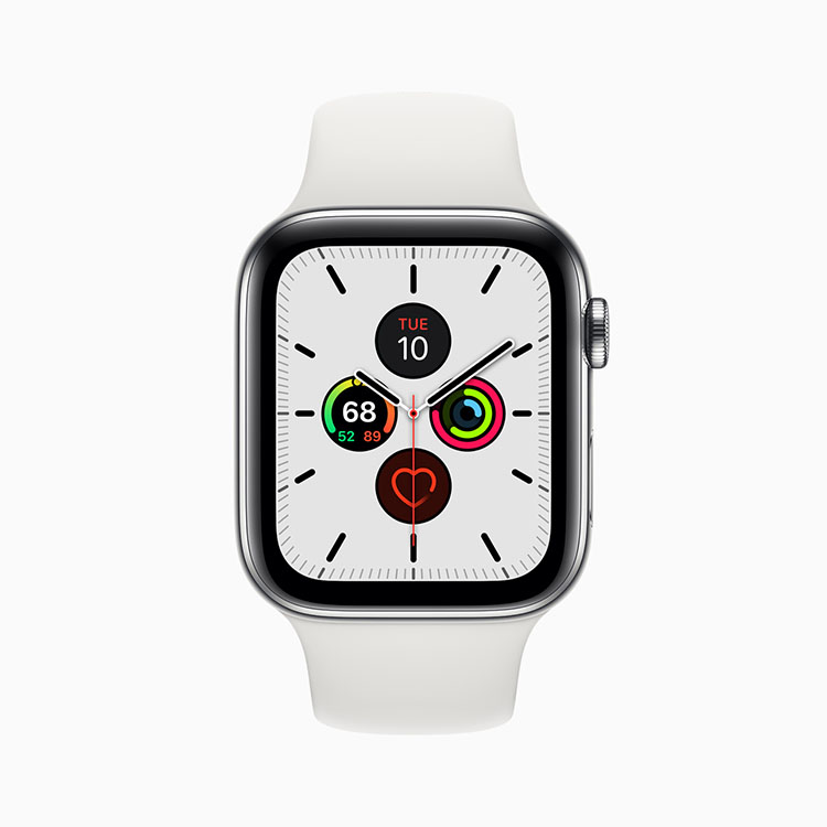 Apple Watch Series 5: never again off 4