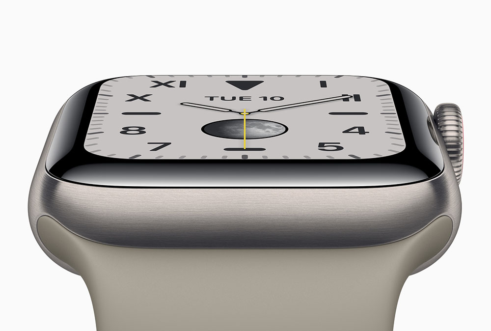 Apple Watch Series 5: never again off