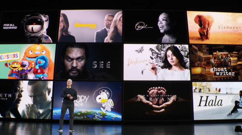 Apple Keynote 2019: streaming service Apple TV + and games flat rate Apple Arcade start for each 4.99 euros per month