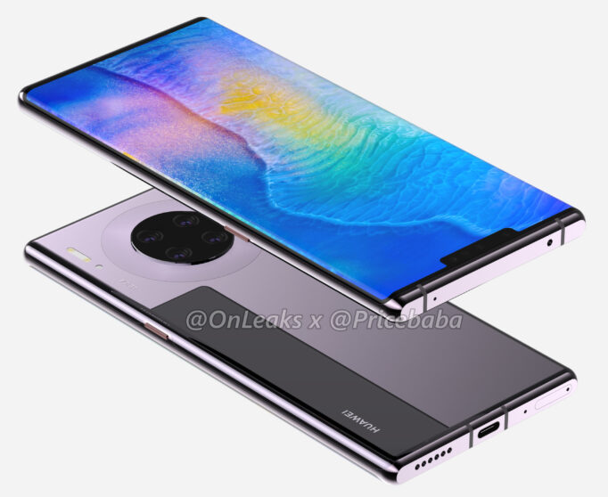 Huawei Mate 30: here are the technical specifications