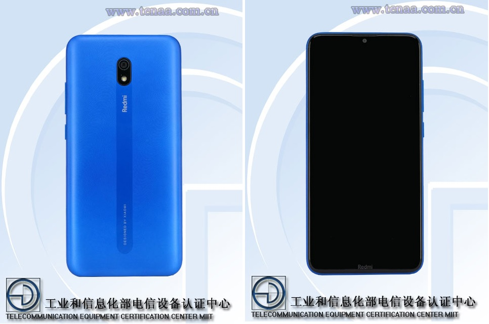 Redmi 8A arrives at TENAA revealing its design with real images 2