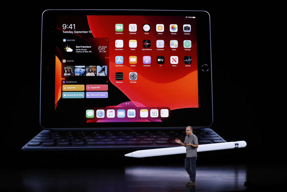 Apple presents a new iPad 10.2 inches cheaper and with new features 3