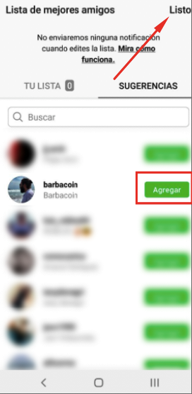 How to create a list of best friends in Instagram? 8