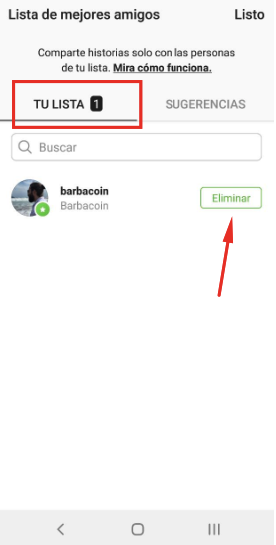 How to create a list of best friends in Instagram? 9