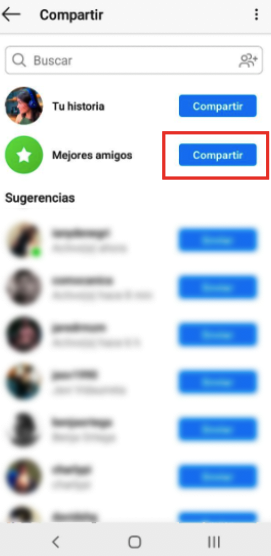 How to create a list of best friends in Instagram? 10