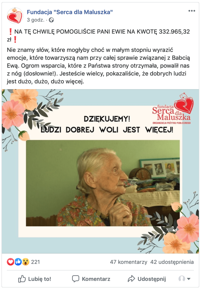 Life savings (PLN 4,000) were stolen from a 99-year-old. Internet users collected for her 535,000 zł! 2