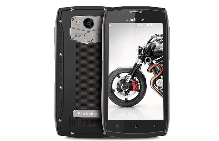 Front and rear Blackview BV7000 Pro