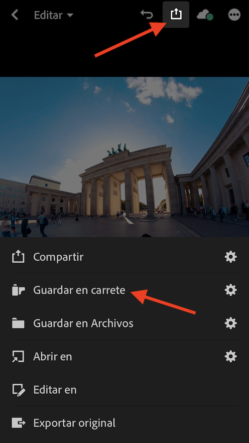How to edit photos in the GoPro style? 8
