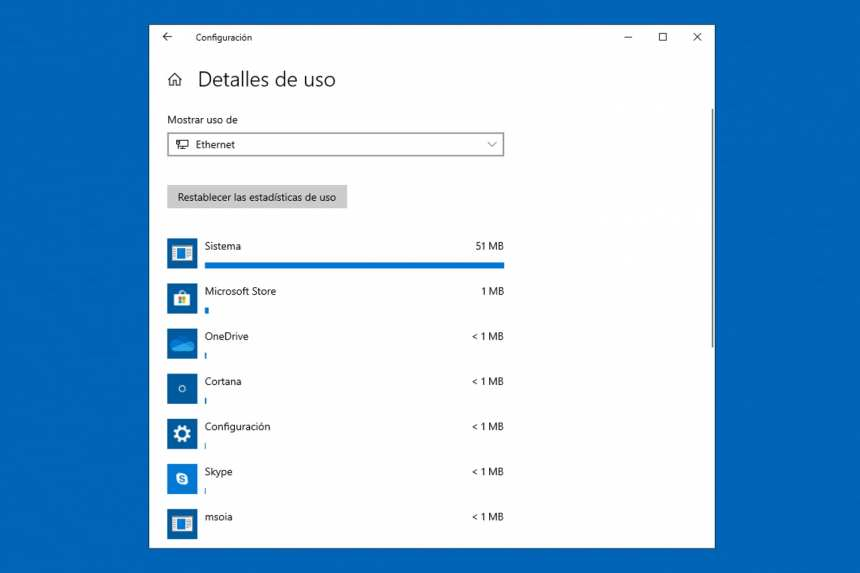How to monitor the use of mobile data in Windows 10 4