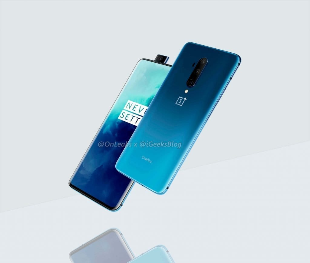 First official images of the new OnePlus 7T Pro device, which will hit the market to become a favorite for fans of the brand.