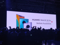Huawei CEO Richard Yu presented the new Mate 30 series at a press conference in Munich on 19.09.19. | (c) Areamobile