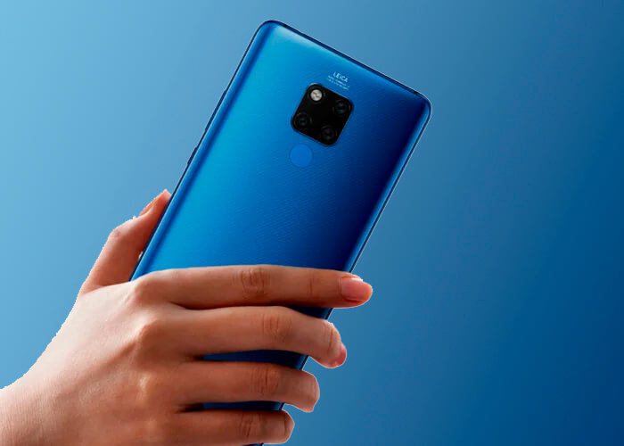 This is the catalog of Huawei after the arrival of the Mate 30 3