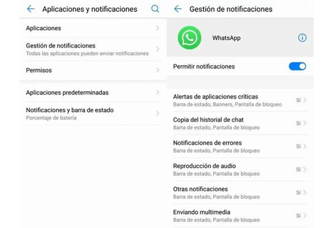 WhatsApp: activating the option to restrict data can cause you to not see messages 2