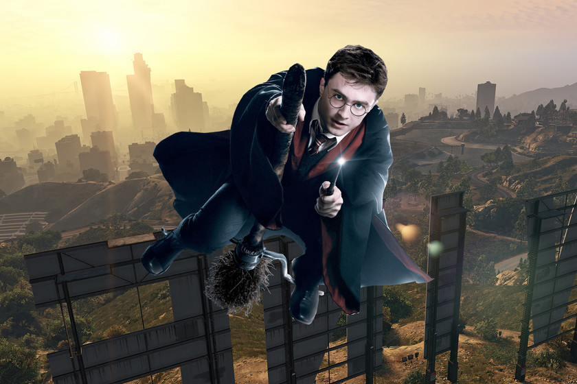 Harry Potter the brown mess in Los Santos with these mods for GTA V