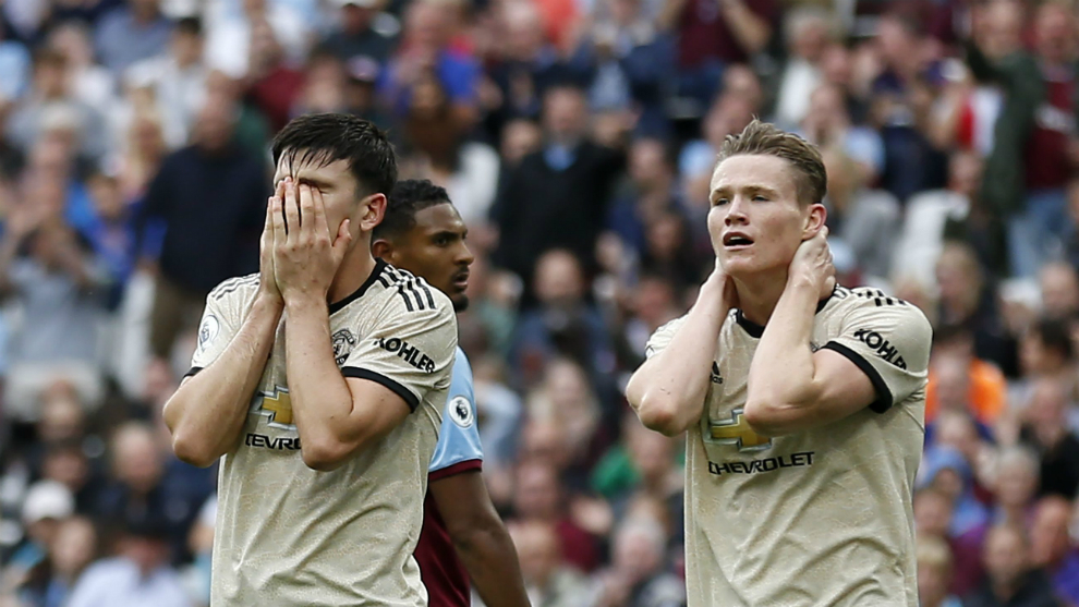 West Ham defeated Manchester United and reaches six undefeated games