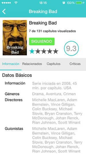 Series.ly, enjoy your movies and series for free with Bandi.ly for iPhone and iPad 4