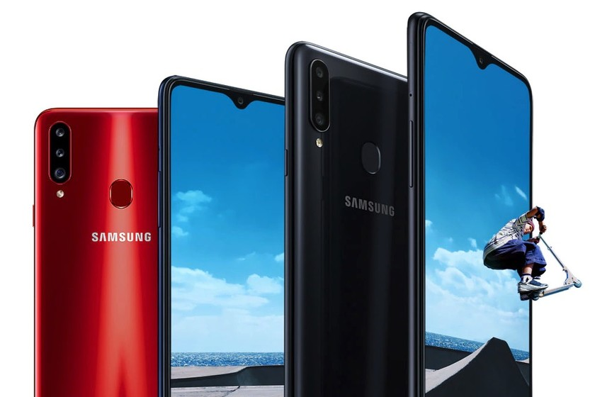Samsung Galaxy A20s: three rear cameras and some more power for one of Samsung's most basic