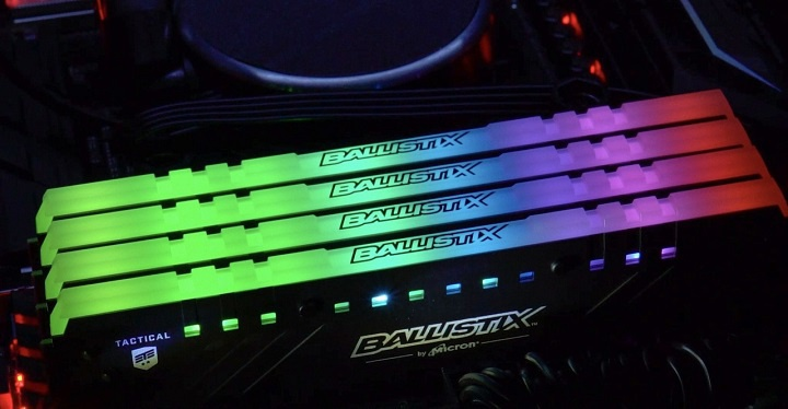 Micron Extends Ballistix Tactical Tracer RGB DDR4 Memory Line with 3200 MHz Kits